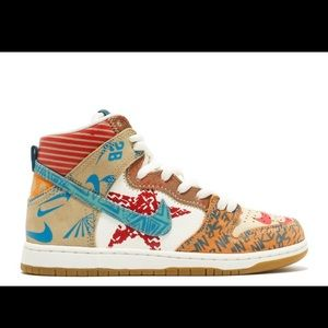 Nike SB Dunk High Thomas Campbell What The Dunk
